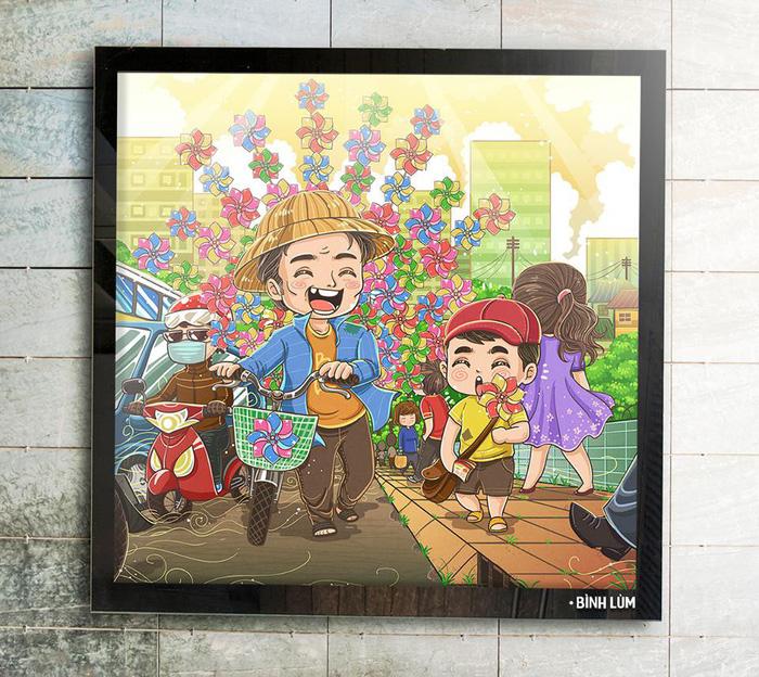 Vẽ cả Hà Nội qua lời kể của bạn bè - Ảnh 11.