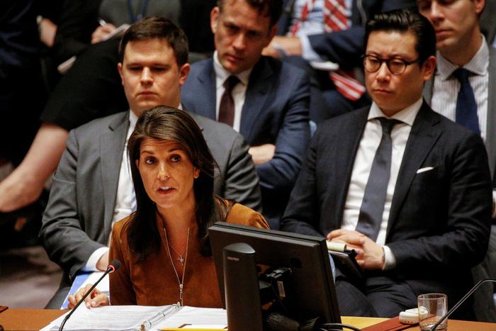 Mỹ sẽ hành động tại Syria không cần thông qua LHQ - Ảnh 1.