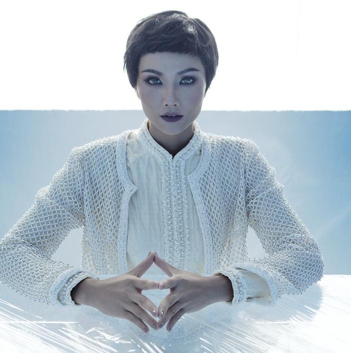 Công Trí chọn Coco yêu dấu mở màn Tuần lễ thời trang quốc tế Việt Nam - Ảnh 3.