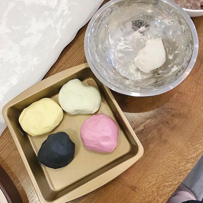 Làm bánh trôi ngũ sắc tết Hàn thực - Ảnh 6.