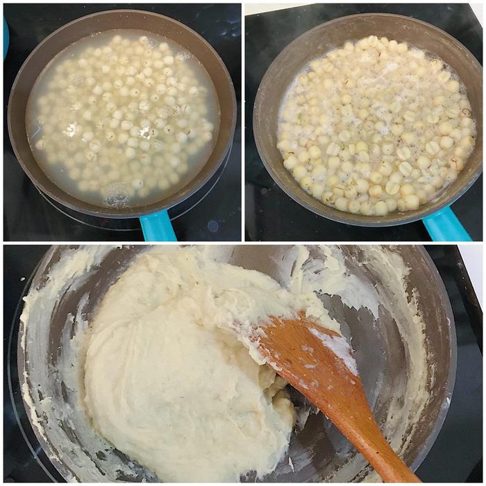 Làm bánh trôi ngũ sắc tết Hàn thực - Ảnh 9.
