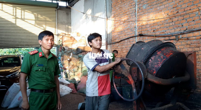 Còn nhiều cà phê bẩn trộn than pin tại 'thủ phủ' Đắk Nông - ảnh 2