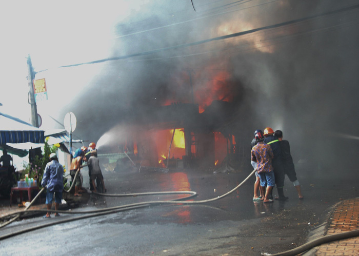 8 căn nhà bị cháy ở Mỹ Tho không được sửa vì thuộc diện giải tỏa - Ảnh 1.