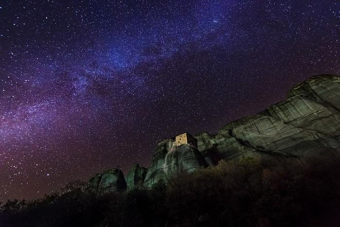 Độc đáo tu viện Meteora lơ lửng trên núi tại Hy Lạp - Ảnh 12.