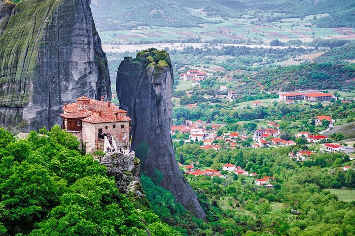 Độc đáo tu viện Meteora lơ lửng trên núi tại Hy Lạp - Ảnh 16.