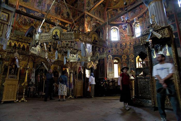 Độc đáo tu viện Meteora lơ lửng trên núi tại Hy Lạp - Ảnh 6.