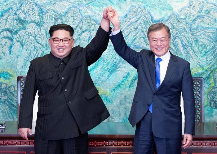 Hàn Quốc - Triều Tiên cùng tuyên bố sẽ không còn chiến tranh - Ảnh 2.