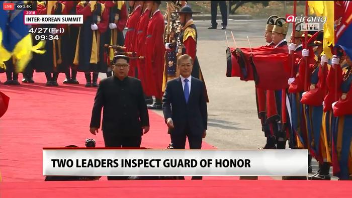 Giây phút lịch sử trên bán đảo Triều Tiên - Ảnh 2.