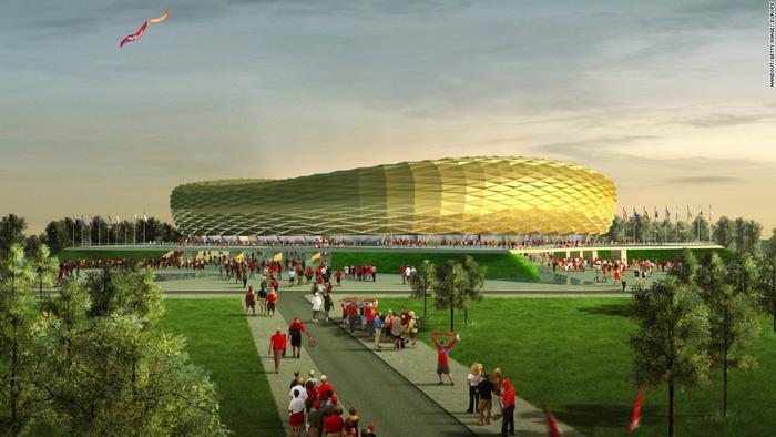 Tham quan các sân vận động diễn ra thi đấu World Cup 2018 - Ảnh 4.