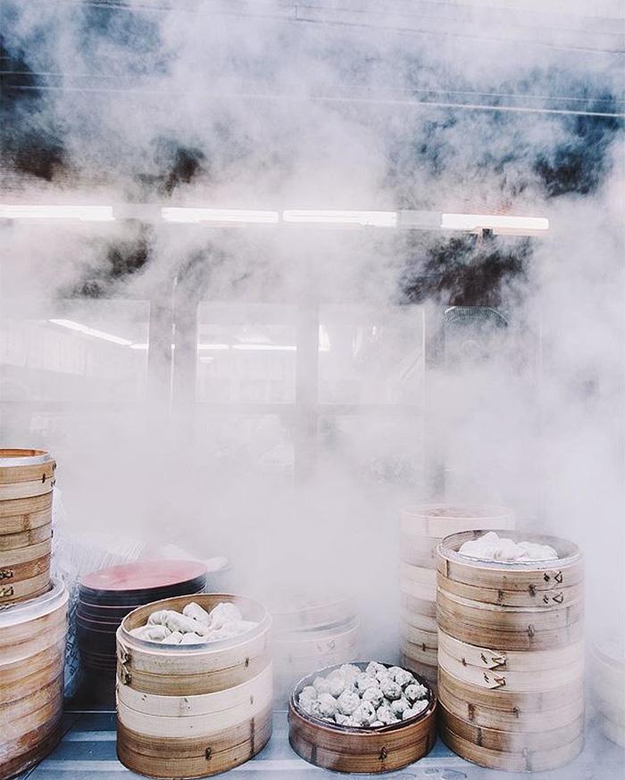 Thưởng thức bánh bao hấp Hàn Quốc - Ảnh 5.