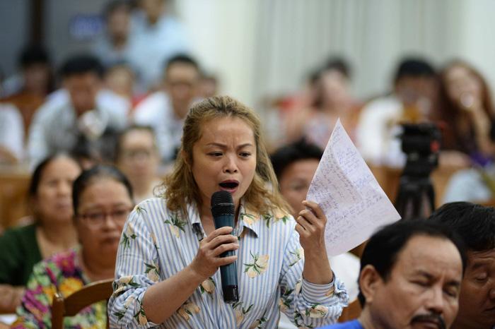 Dân Thủ Thiêm rơi nước mắt kiến nghị với đại biểu quốc hội - Ảnh 4.