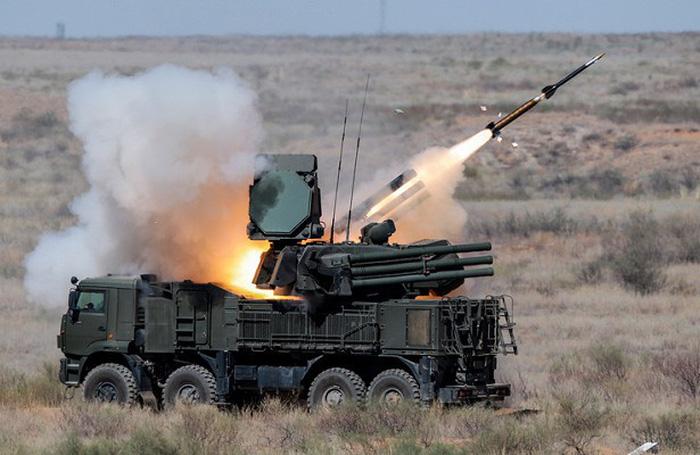 Israel công bố video tên lửa Spike tiêu diệt hệ thống Pantsir-S1 của Nga - Ảnh 2.