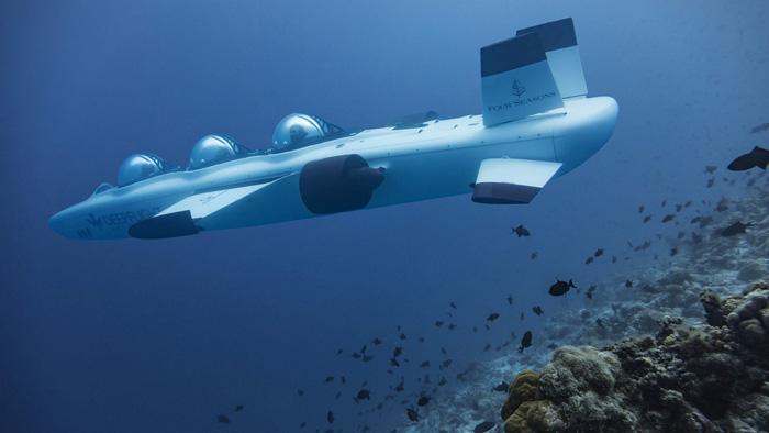 Đến Maldives ngồi tàu ngầm ngắm san hô - Ảnh 3.