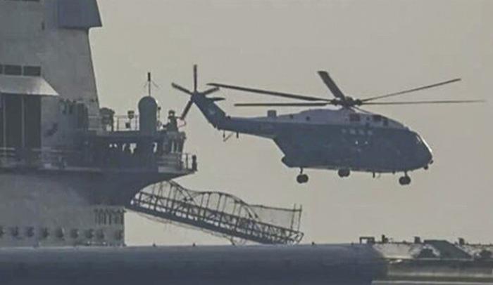 Trung Quốc thử nghiệm tàu sân bay tự đóng trên biển - Ảnh 3.
