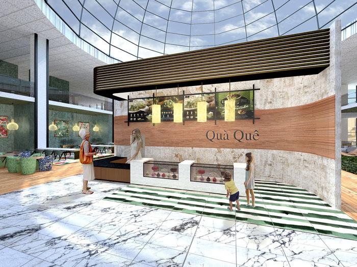 Hình tượng cây tre Việt Nam đoạt giải tài năng cuộc thi thiết kế nội thất Mỹ - Ảnh 4.
