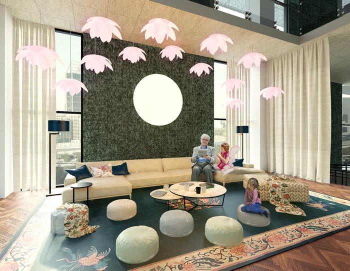 Hình tượng cây tre Việt Nam đoạt giải tài năng cuộc thi thiết kế nội thất Mỹ - Ảnh 3.
