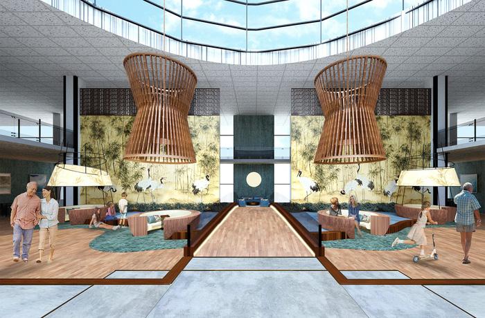 Hình tượng cây tre Việt Nam đoạt giải tài năng cuộc thi thiết kế nội thất Mỹ - Ảnh 2.
