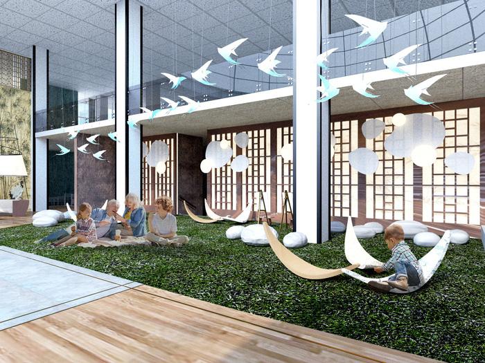 Hình tượng cây tre Việt Nam đoạt giải tài năng cuộc thi thiết kế nội thất Mỹ - Ảnh 6.