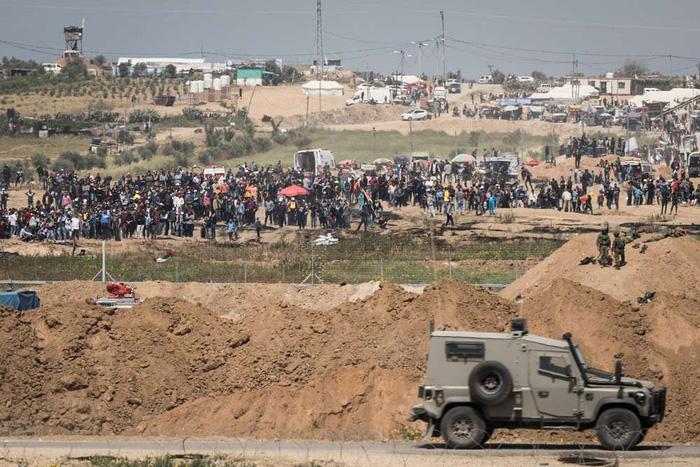 Người Palestine rùng rùng biểu tình chống Mỹ mở đại sứ quán ở Jerusalem - Ảnh 1.