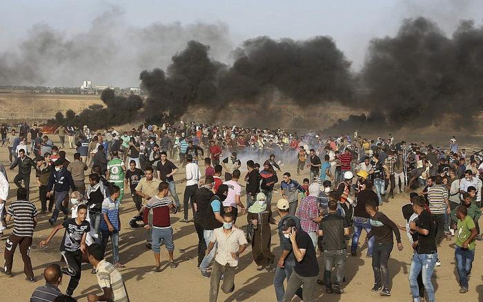 Người Palestine rùng rùng biểu tình chống Mỹ mở đại sứ quán ở Jerusalem - Ảnh 3.