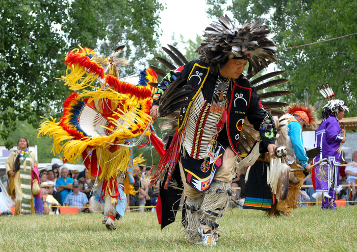 Độc đáo lễ hội 'Pow Wow' của người da đỏ - Ảnh 7.