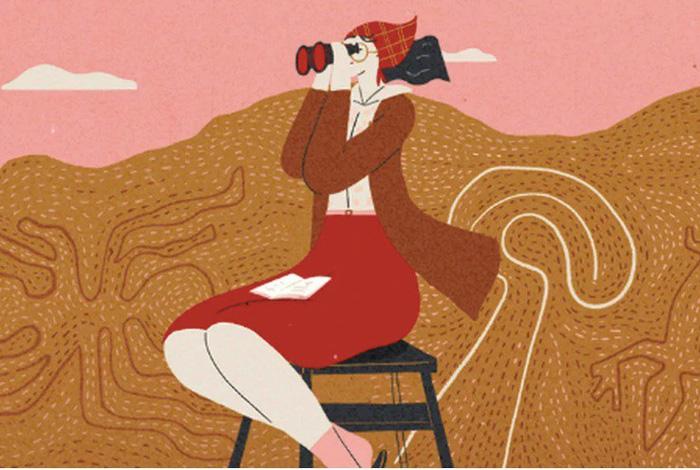 Maria Reiche - quý bà của những hình vẽ bí ẩn trên sa mạc - Ảnh 1.