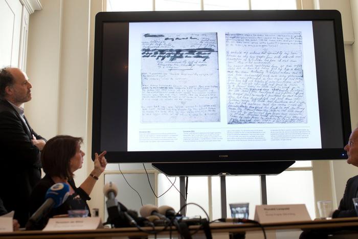 Tìm thấy 2 trang bị giấu đi của Nhật ký Anne Frank - Ảnh 2.