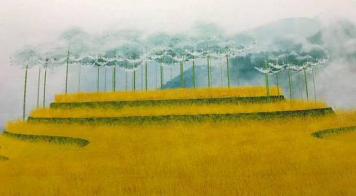 Ý kiến trái chiều về Mây pha lê trên đồi mâm xôi Mù Cang Chải - Ảnh 1.