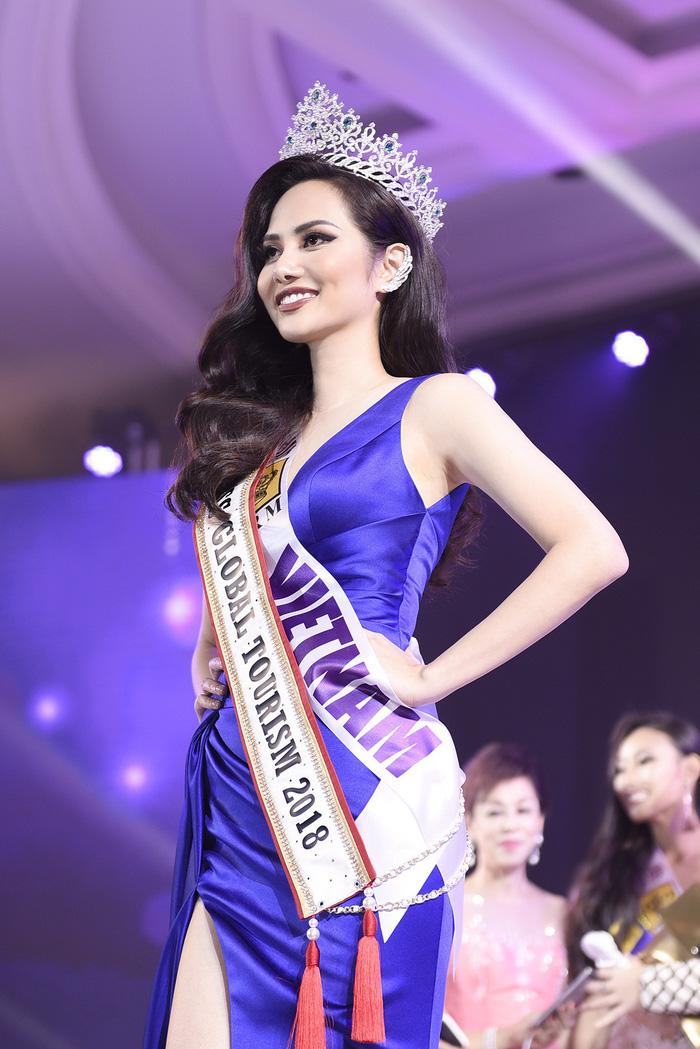Diệu Linh nhận danh hiệu Người đẹp Du lịch Toàn cầu 2018 - Ảnh 6.
