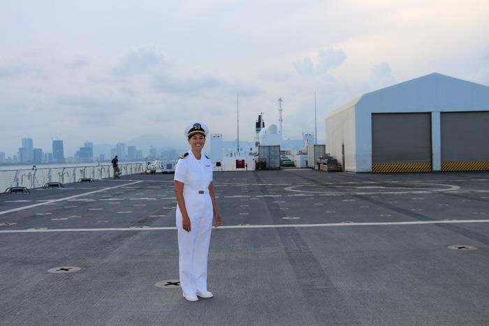 Siêu bệnh viện USNS Mercy của Hải quân Mỹ đến Nha Trang - Ảnh 23.