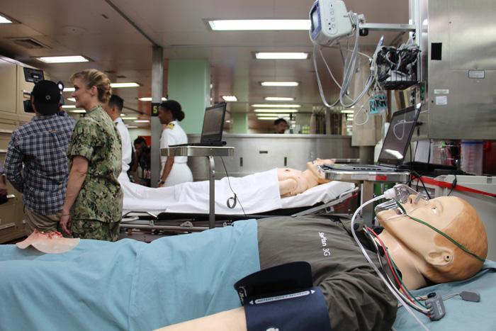 Siêu bệnh viện USNS Mercy của Hải quân Mỹ đến Nha Trang - Ảnh 29.