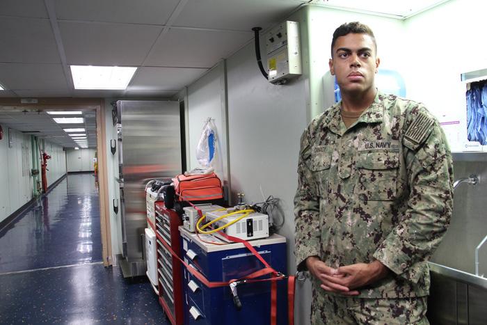 Siêu bệnh viện USNS Mercy của Hải quân Mỹ đến Nha Trang - Ảnh 13.