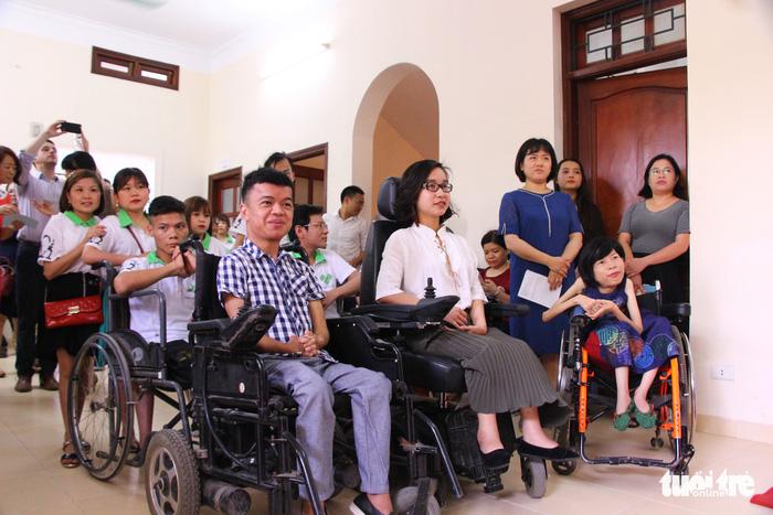'Hạt mầm ước mơ' cho người khuyết tật - ảnh 2