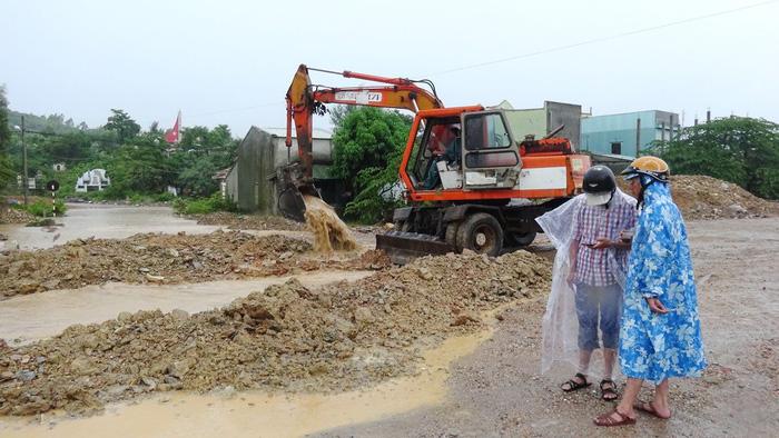 Khu tái định cư ngập lụt - Ảnh 1.