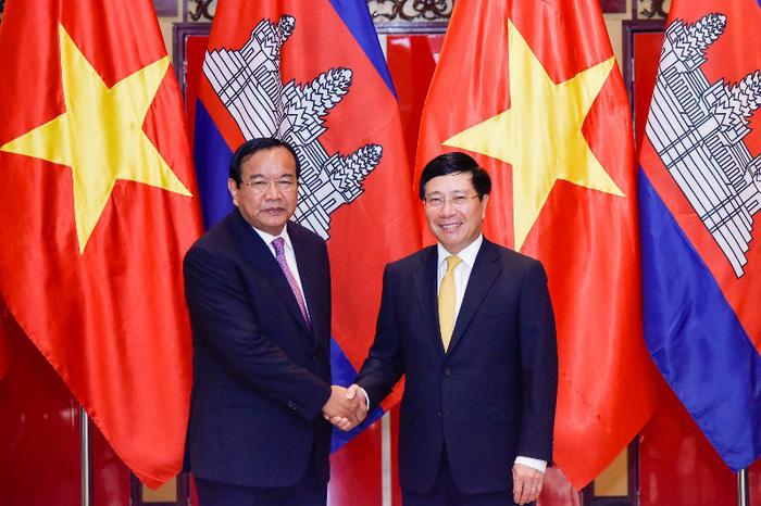 Việc phân giới, cắm mốc Việt Nam - Campuchia đạt 84% - ảnh 1
