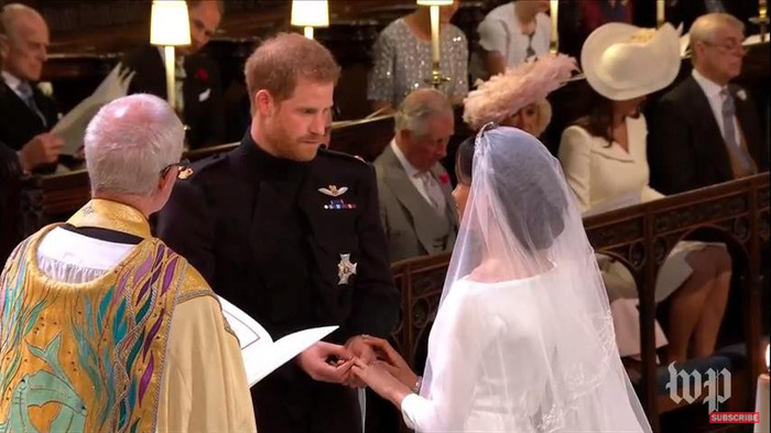 Những khoảnh khắc đẹp nhất của đám cưới Hoàng gia - Ảnh 7.