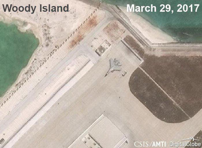 Mỹ lên án Trung Quốc thử máy bay ném bom ở Hoàng Sa - Ảnh 2.