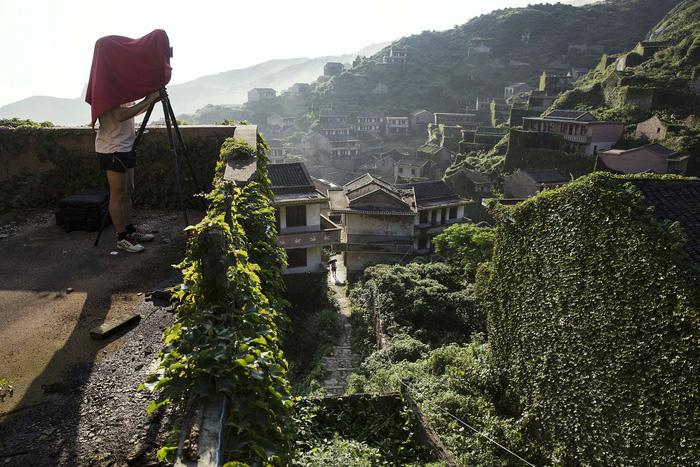 Làng chài phủ thảm thực vật xanh tươi ở Trung Quốc - Ảnh 3.