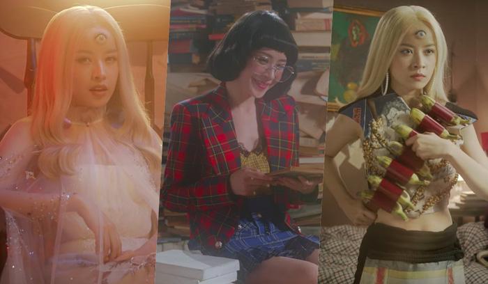 Chi Pu tung  MV Story Đóa hoa hồng đầy ma mị với con mắt thứ 3