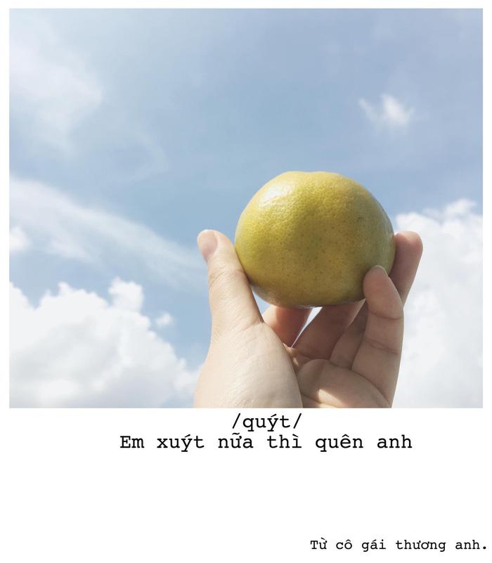 Bộ ảnh thả thính bằng trái cây của cô gái Sài Gòn - Ảnh 5.
