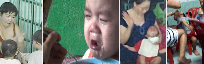 Nhói lòng những bữa ăn đầy nước mắt của trẻ mầm non - Ảnh 1.