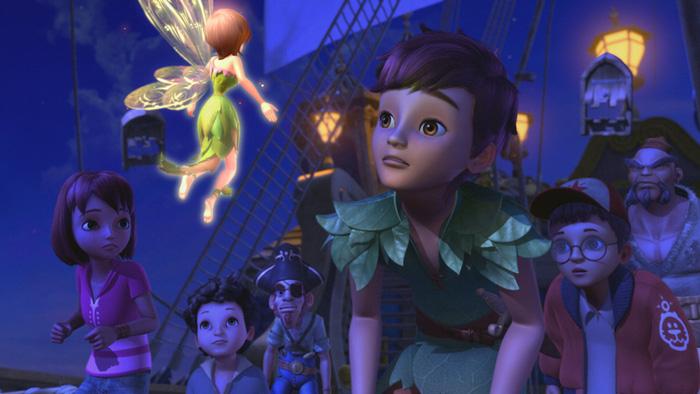 Cuộc hành trình mới của Peter Pan và nàng tiên Tinker Bell - Ảnh 2.