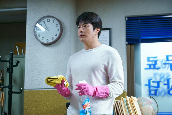 Kwon Sang Woo làm thám tử sợ vợ trong The Accidental Detective 2 - Ảnh 9.