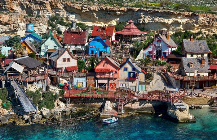 Kỳ bí ngôi làng của thủy thủ Popeye ở Malta - Ảnh 6.