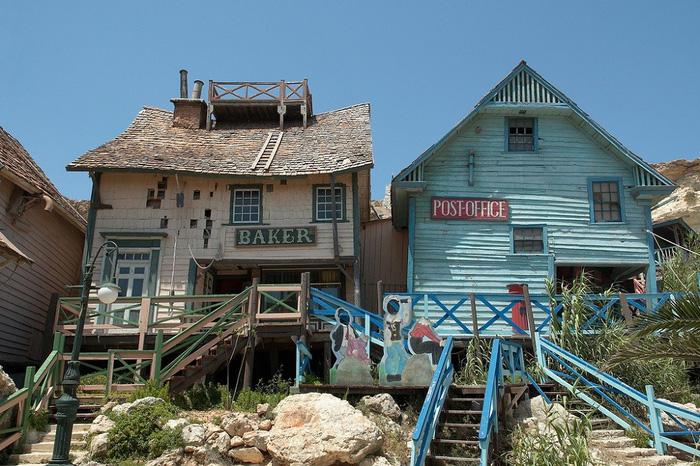 Kỳ bí ngôi làng của thủy thủ Popeye ở Malta - Ảnh 10.