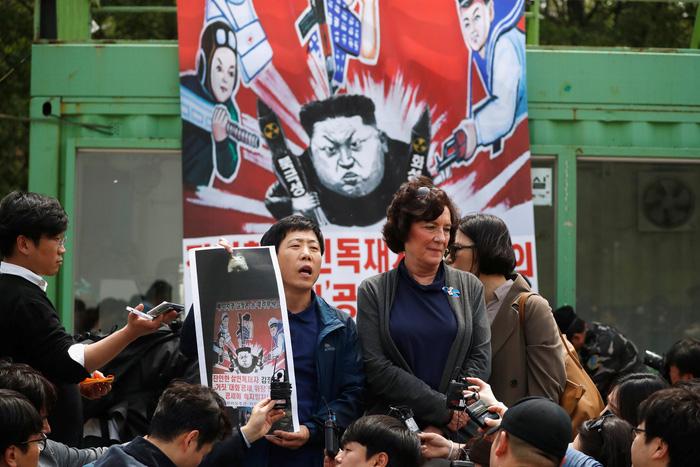 Hàn Quốc nỗ lực chặn các hoạt động chống phá Triều Tiên - Ảnh 1.