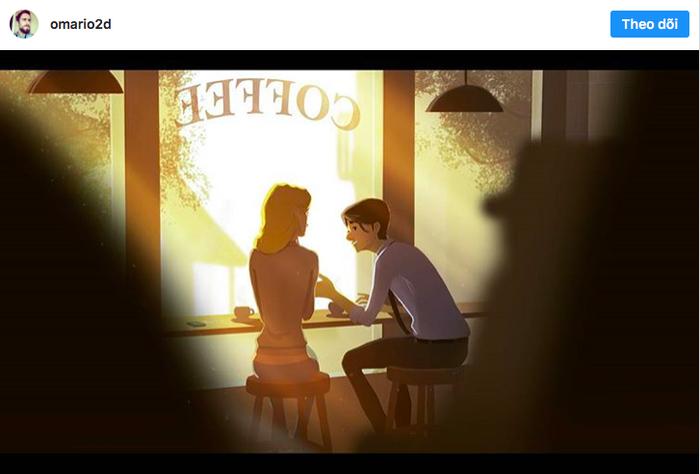 20 sắc thái tình yêu qua nét vẽ dễ thương của họa sĩ Anh - Ảnh 13.