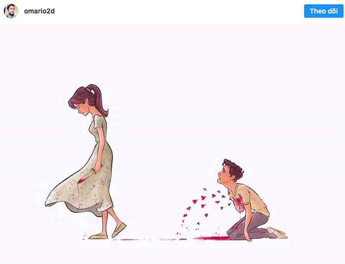 20 sắc thái tình yêu qua nét vẽ dễ thương của họa sĩ Anh - Ảnh 20.