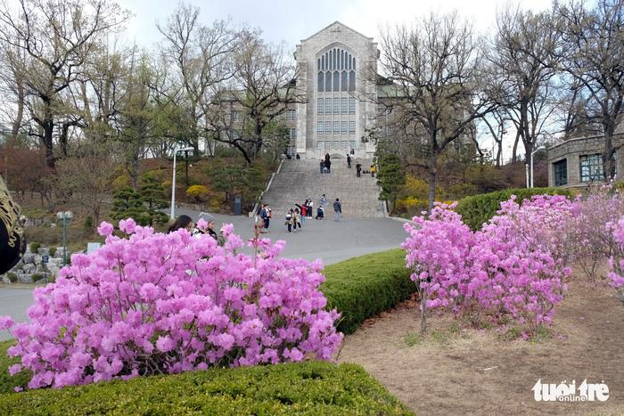 Ngắm nhan sắc Đại học nữ lớn nhất thế giới - Ảnh 6.