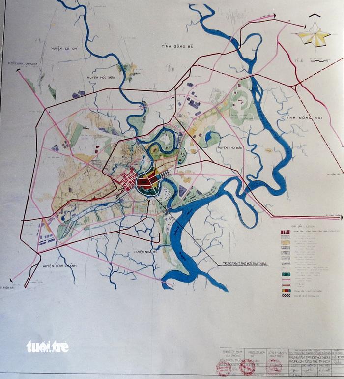 Ông Võ Viết Thanh công bố 13 bản đồ quy hoạch Thủ Thiêm 1/5000 - Ảnh 1.